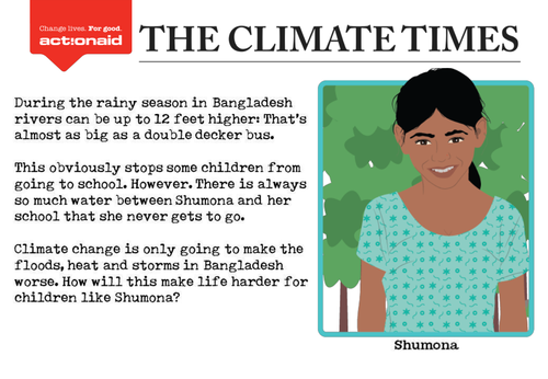 The Climate Times - Non-fiction writing task