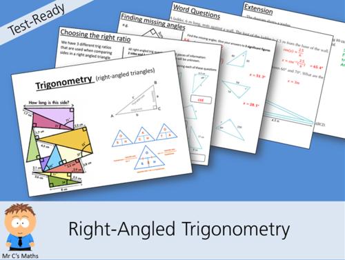 Test-Ready: Right-Angled Trigonometry