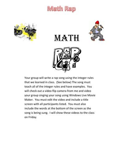 Math Rap Project