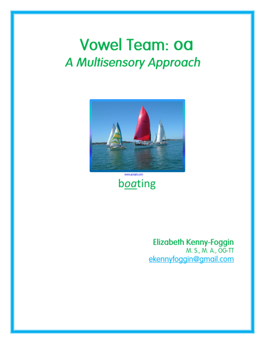 Know the Code: Vowel Team oa