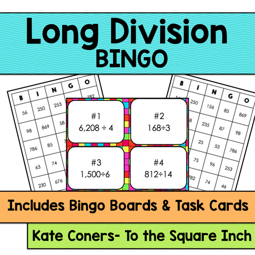 Division Bingo by Fuzzie - Teaching Resources - Tes