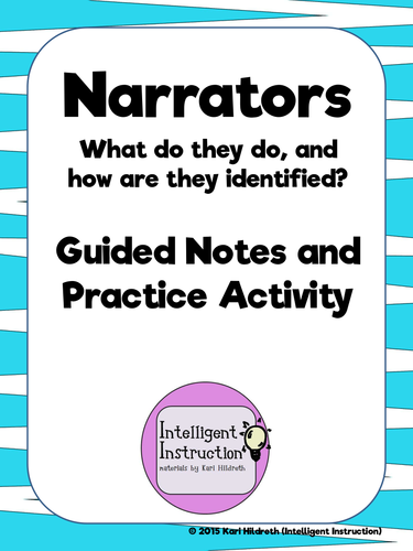 narrative note guide Enotescom has study guides, lesson plans, quizzes with a vibrant community of knowledgeable teachers and students to help you with almost any subject.