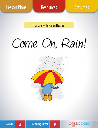 the rain came lesson plan A preschool rain unit can contain lots of interesting projects use these ideas for activities in math, science, language arts, dramatic play, and art (rain sticks) as a part of a weather or spring theme.
