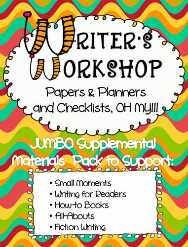 writers workshop paper