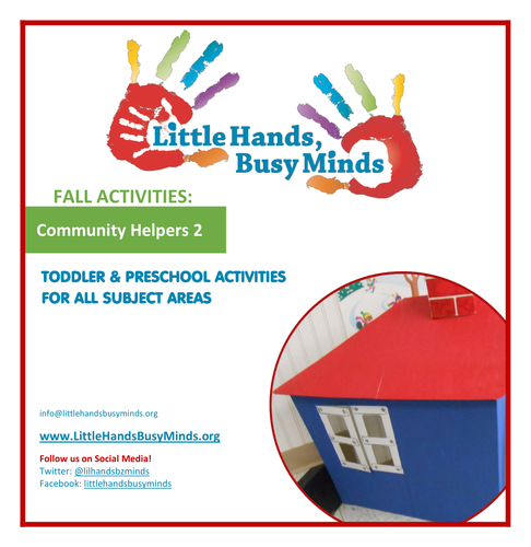 Fall Activities - Community Helpers - 2: Weekly Thematic Unit