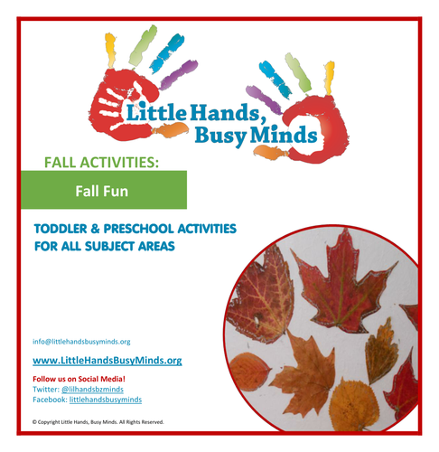 Fall Activities - Fall Fun: Weekly Thematic Unit