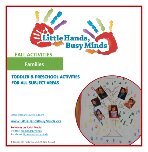 Fall Activities - Families: Weekly Thematic Unit