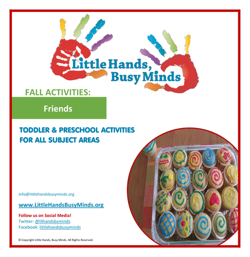Fall Activities - Friends: Weekly Thematic Unit