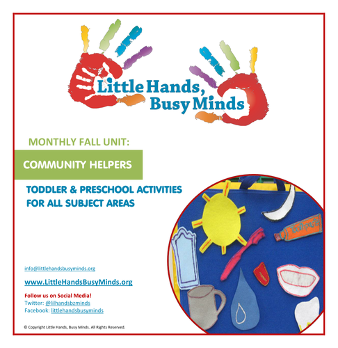Fall Activities - Community Helpers:  Monthly Thematic Unit