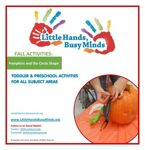 Fall Activities - Pumpkins and the Circle Shape:  Weekly Unit