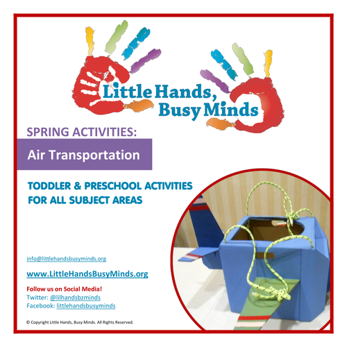 Spring Activities - Air Transportation:  Weekly Thematic Unit