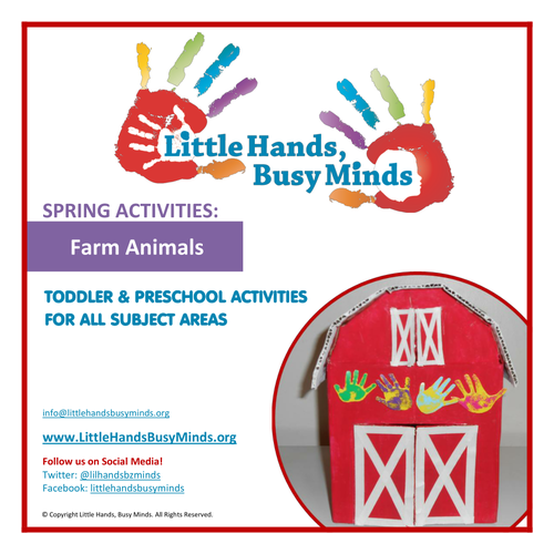 Spring Activities - Farm Animals:  Weekly Thematic Unit