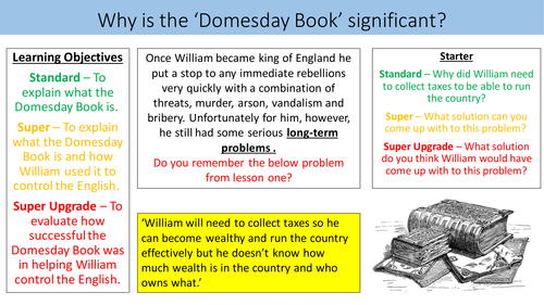 Why is the 'Domesday Book' significant?