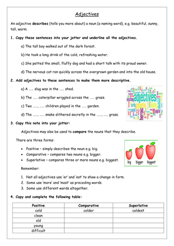 S1 Literacy Pack