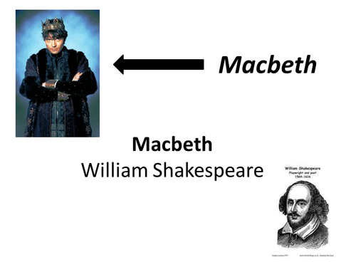A break down of the play Macbeth by Shakespeare for students with SEN