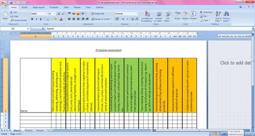 assessment PE