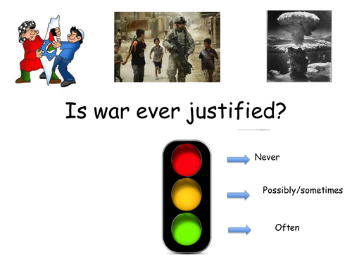 Nature and importance of just war