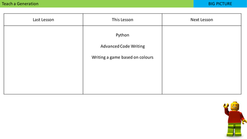Python Basics and Advanced Level - Creating a python colour game