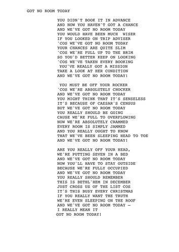 Kolby Koloff - No Room Lyrics | Musixmatch