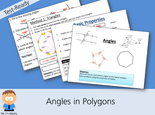 Test-Ready: Angles in Polygons