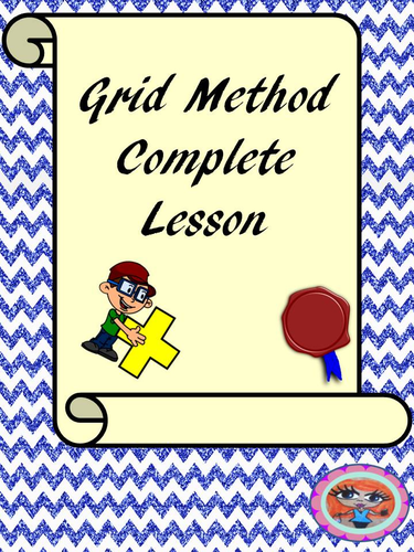 Grid Method Multiplication Math lesson