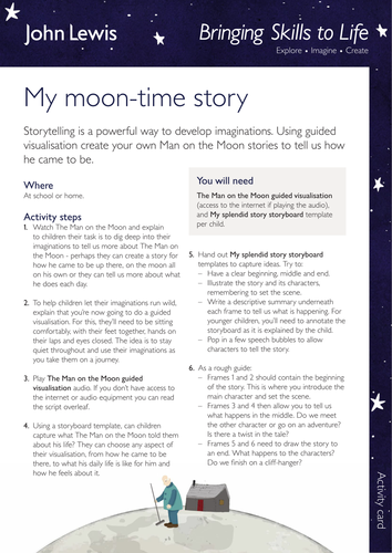 My moon-time story