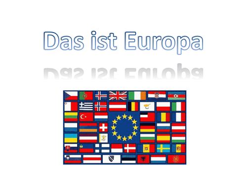 European Countries in German