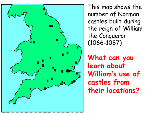 Map Of England Castles.Medieval Castles Lesson