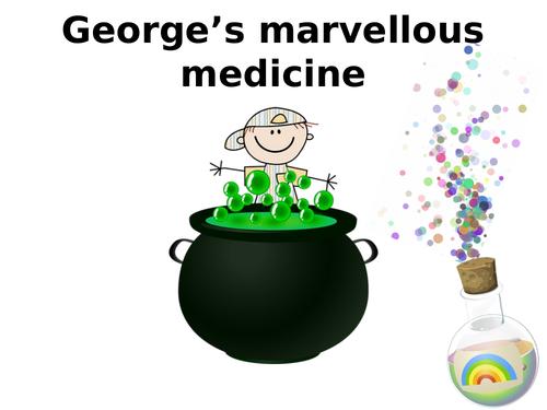 Marvellous Medicine- The Ingredients (Roald Dahl- George's Marvellous Medicine)