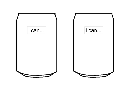 I can template -  Start of the Year - Positive Classroom Enviroment