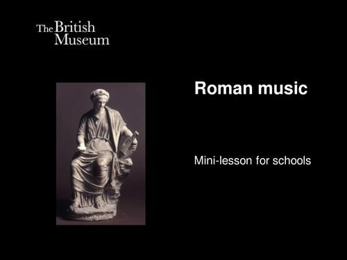 Roman music
