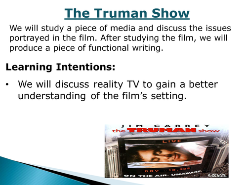 Faculty Of Business Working Paper Series  School Of Accounting  The Truman Show A Level Drama Marked By Teachers Com Source Truman State  University The Application How To Write An Essay Proposal Example also Thesis Statements For Essays  Easy Persuasive Essay Topics For High School