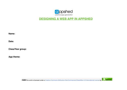 Appshed Design Template