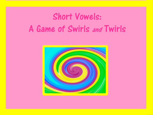 Know the Code: Short Vowel Game