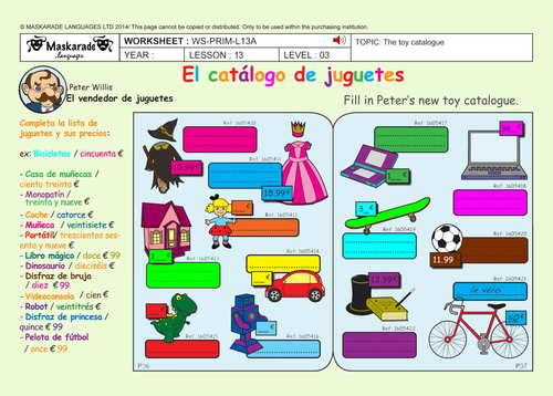 SPANISH-ALL ABOUT-CHRISTMAS FOR Y5-Y6: Christmas decoration/ Quiz/ Poster/ Cut-out-masks