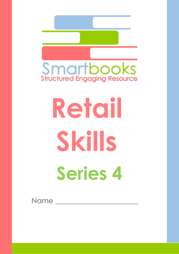 Retail Skills Workbooks Series 1-4 BUNDLE PACK