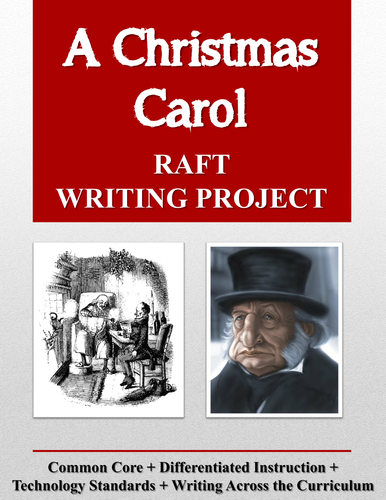 A Christmas Carol Raft Writing Project Rubric By Mistermitchell3