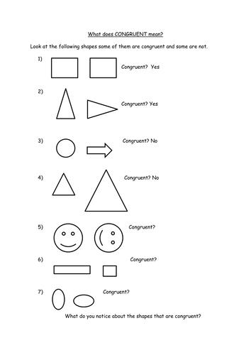 Discover Congruence And Similar Shapes By Jennajones123