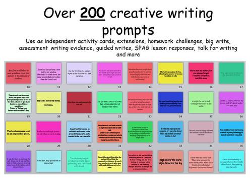 short writing activity ks2