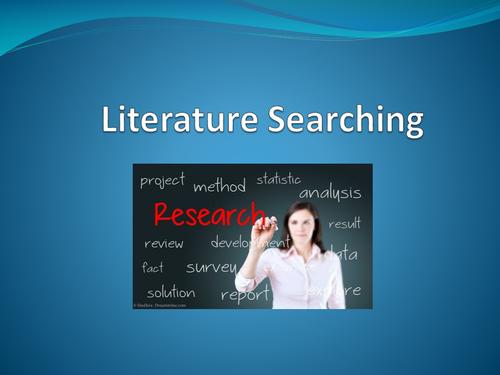 Literature Searching Presentation