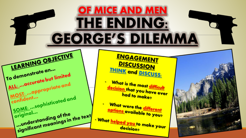 Of Mice and Men: The Ending - George's Dilemma