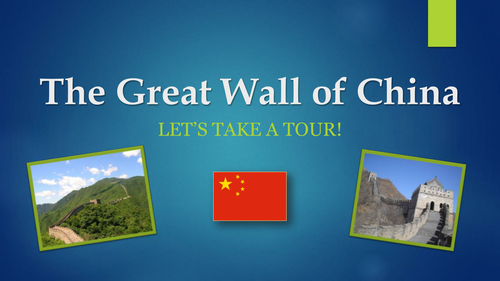 Great Wall of China - PowerPoint Presentation - Ancient Civilizations