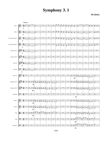 A Symphony of Sea Shanty Tunes for intermediate school or youth orchestra