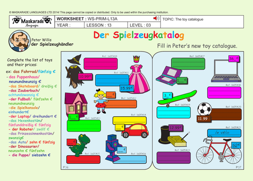 GERMAN ALL ABOUT CHRISTMAS Y5/Y6: Christmas decorations/ Quiz/ Game activities