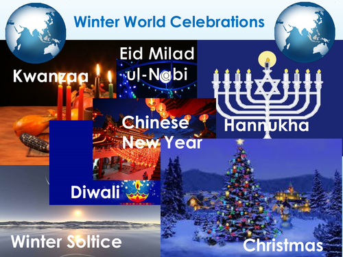 Religious Education: Christmas and other winter world celebrations