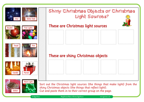 Christmas Resources for KS1 by Sigma Science