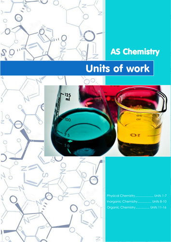 AS Chemistry Units of Work