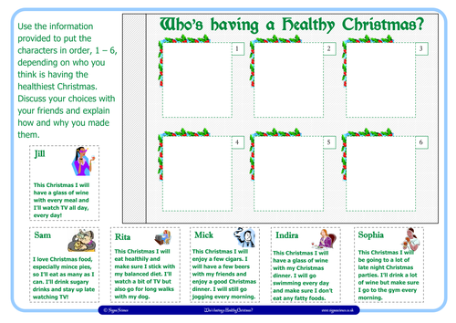 Christmas Resources for KS2 by Sigma Science
