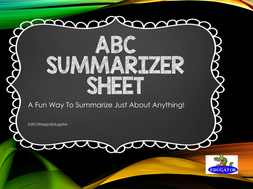 FREE ABC Summarizer