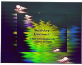 Vocabulary Lists, Activities, and Tests SAMPLE